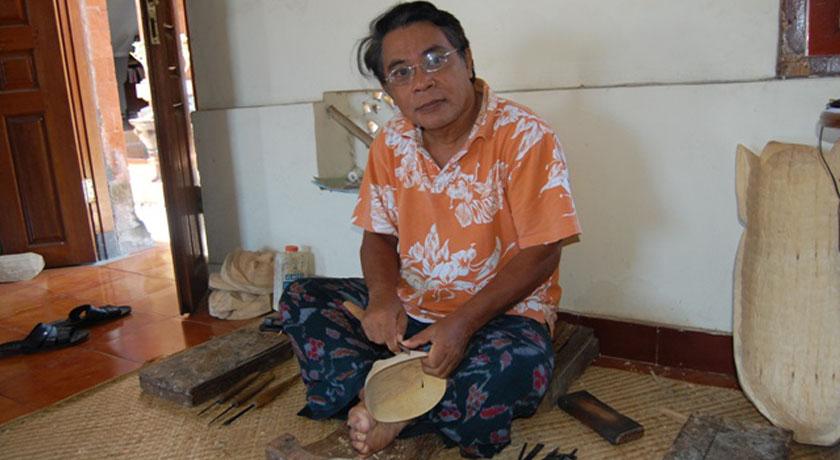 Master Balinese Mask Maker